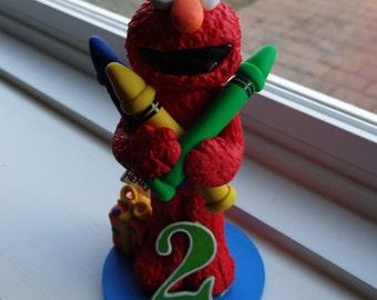Custom Elmo Cake Topper