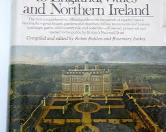Book, National Trust Guide to England, Wales and Northern Ireland, Knopf, 1974