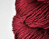 Poisoned blood - Silk/Merino DK Yarn superwash