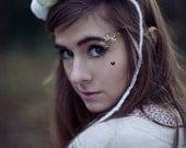Pastel Glitter Wool Unicorn Pom Pom Magical Hair Band, Cute Hair Accessory, Pastel Hair Band
