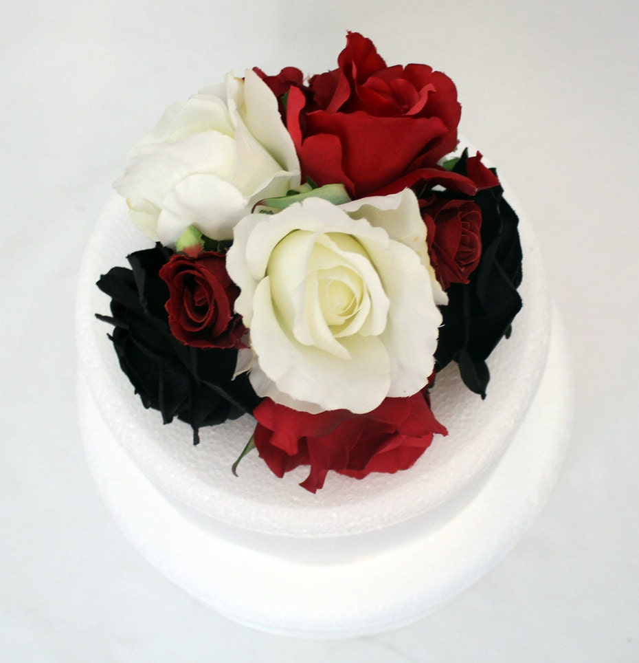 red and white wedding cake toppers wedding cake topper black white and 19106