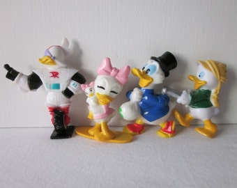 Disney's Duck Tales Figures - Kelloggs Cereal Premiums