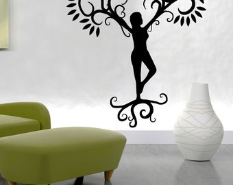Vinyl Wall Decal Sticker Mother Nature OSMB805m
