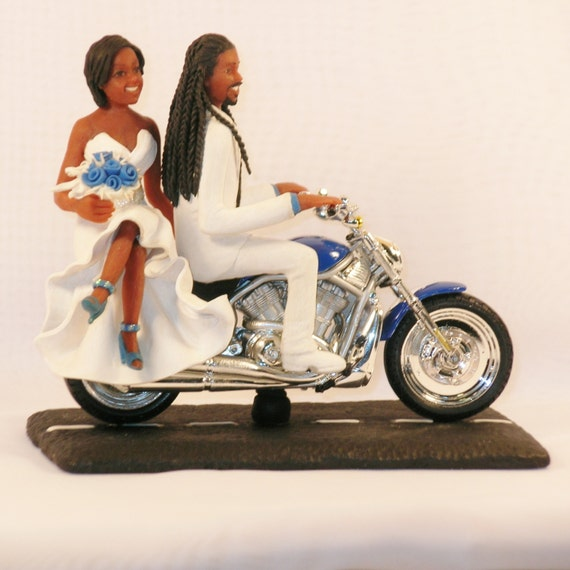 Groom Cake Topper With Dreads