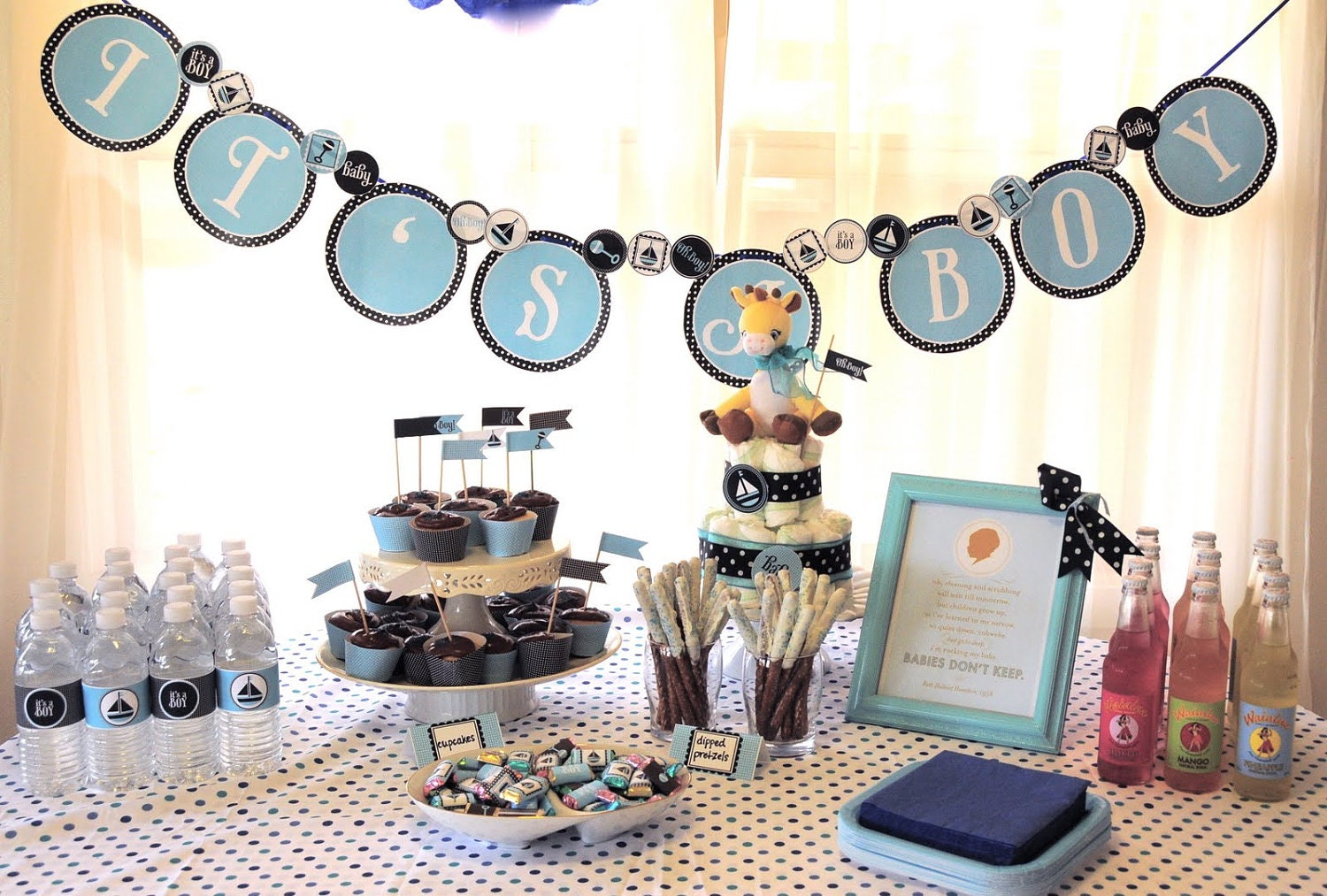 oh boy baby shower printable it 39 s a boy banner from love