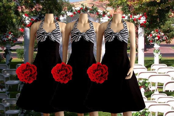Zebra Bridesmaid Dresses Shop 65