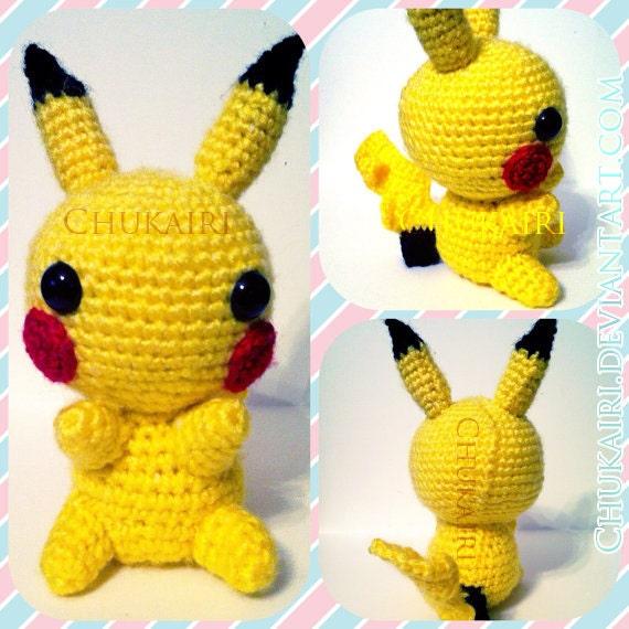 Pokemon: Pikachu amigurumi