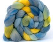 RIVETING ROSIE - Merino Top - Hand-Dyed Spinning Fiber - 4.75oz