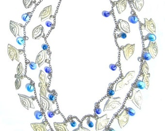 The Eyes Have It,  Milagro necklace READY TO SHIP ...we could all use a miracle