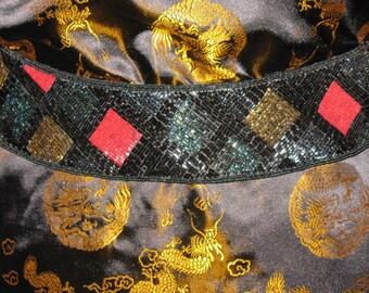 Beaded Diamond Belt