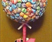 Minnie Mouse Lollipop Tree (custom made)  Party Candy Buffet,Station,Centerpiece or gift
