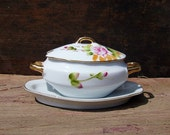 Mayonnaise Sauce Dish Serving Bowl Lefton Vintage China Gravy Boat Tiny Miniature Soup Tureen Covered Sugar Bowl Dainty Porcelain