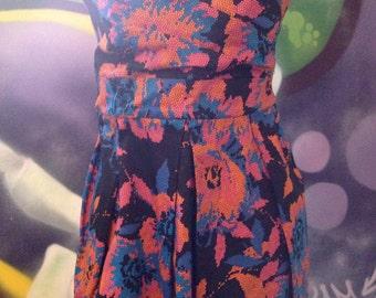 Vintage Strapless Dress