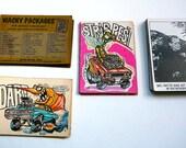 créatures en vedette des années 1970, farfelu paquets de cartes publiées par Topps