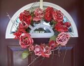 SALE - Valentine's Day Wreath - Eternal Love