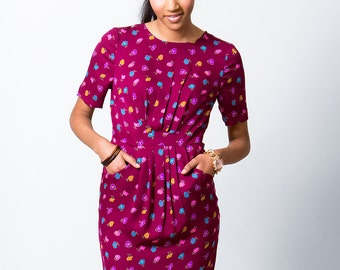 Coffee Date Dress Sewing Pattern