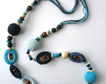 CLEARANCE SALE - Summer Fiesta Crocheted Necklace