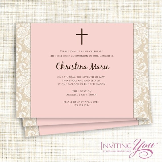 Items Similar To Christening Communion Or Confirmation