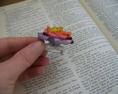 Rainbow Book Pin