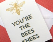 You're the Bees Knees Card & Envelope