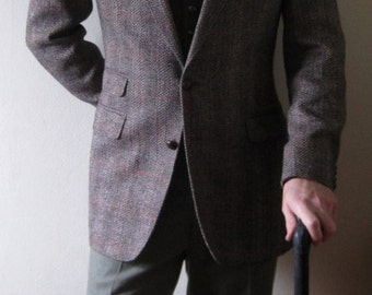 British Isles Tweed Jacket sz 40
