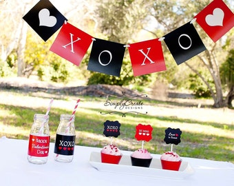 Valentine's Day Banner DIGITAL  Files XOXO