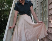silk modern love skirt
