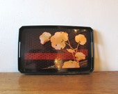 Lacquer Japanese Tray