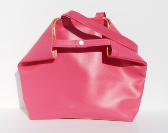 Oh So Vogue Large Tote or Purse in PINK BLUSH