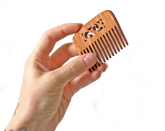 Natural Comb - Wood Hair Comb - Wooden Hair Comb - Hair Accessory - Hair Combs for Women