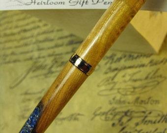 Lapis Inlaid  Battle of Princeton Pen
