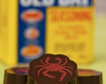 Old Bay® Chocolates - Chocolate Covered Caramels, Crab Chocolate, MD Chocolate