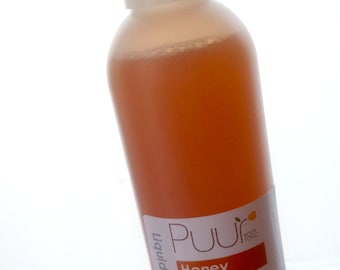 Natural Liquid Soap - Honey Scented Soap - Pure Liquid Castile Soap 8oz SLS Free