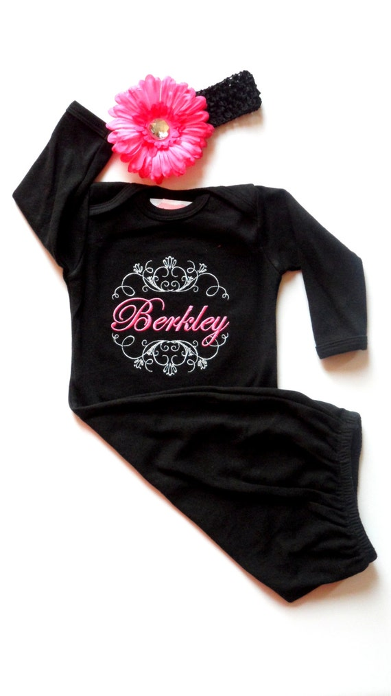 Personalized Baby Girl Clothes Newborn Take Sassylocks