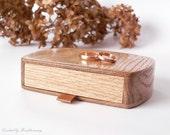 Ring bearer box - wedding ring box - MADE TO ORDER