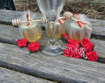 Engagement Party Honey Favors,  48 Jars