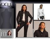 Vogue Pattern V1036 Today's Fit by Sandra Betzina OSZ