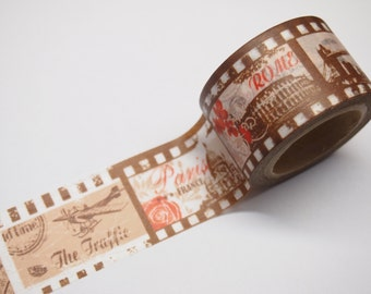 Vintage style Washi Tape (30mm X 10M)