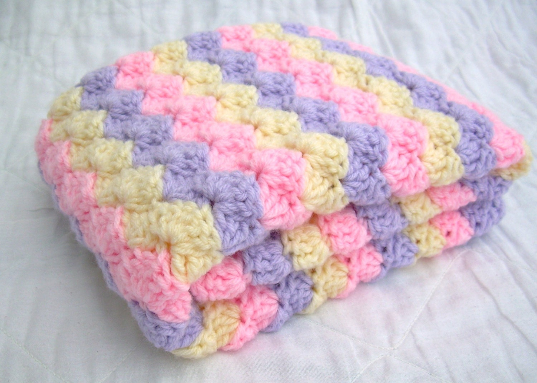 Crochet Stitches Baby Blankets : Crochet Baby Blanket Baby Blanket Crochet by JadesClosetBlankets