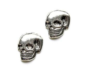 Skull Cufflinks - Gifts for Men - Anniversary Gift - Handmade - Gift Box Included