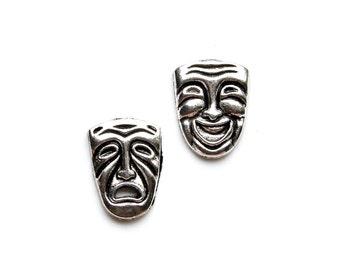 Drama Cufflinks - Gifts for Men - Anniversary Gift - Handmade - Gift Box Included