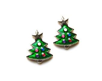 Christmas Tree Cufflinks Set, Gift Box Includeding, Guaranteed