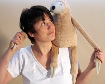 Big Sloth, stuffed animal toy for children