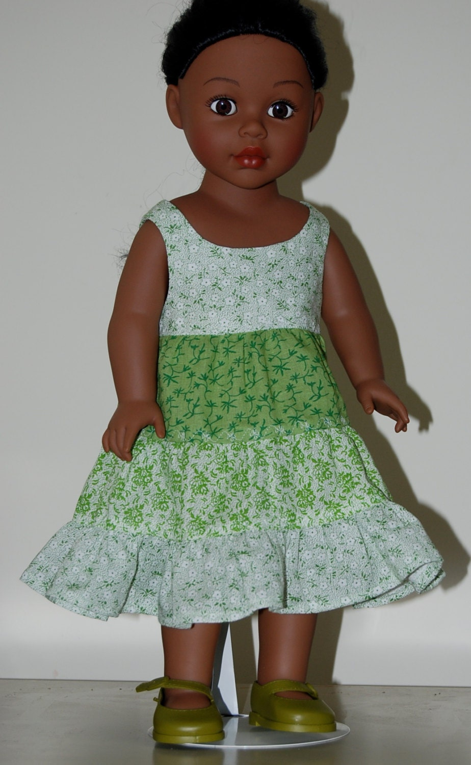 Doll Clothes Patterns By Valspierssews Review Of American: 18 Inch Doll Clothes Twirl Dress By NammysCloset On Etsy