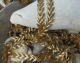 Grecian Leaf Chain (1 yard) Special Order
