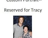 RESERVED FOR TRACY: Custom Crochet Portrait, Part 1