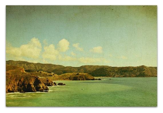 landscape photography california vintage ocean summer
