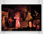 Disneyland Pirates Photography - 8x12 photograph print - Caribbean ride disneyland theme park anaheim captain jack sparrow 'Bridal Auction'
