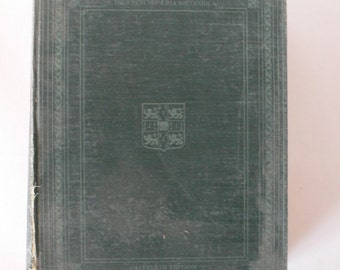 1911 book, The Encyclopaedia Britannica volume VII from Diz Has Neat Stuff