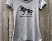 Game of Thrones // Winter Is Coming // Women's Scoop Neck Tee Shirt